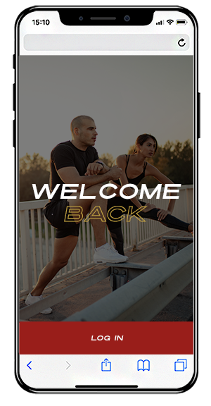trojan fitness ruislip login screen
